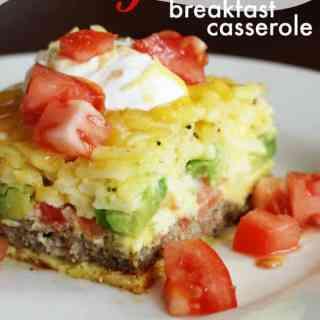 California Breakfast Casserole