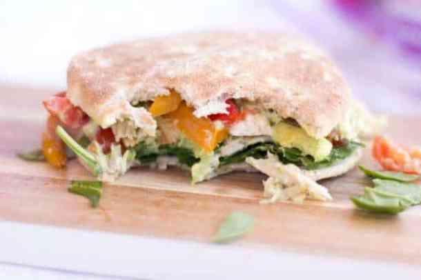 Easy Fajita Sandwich