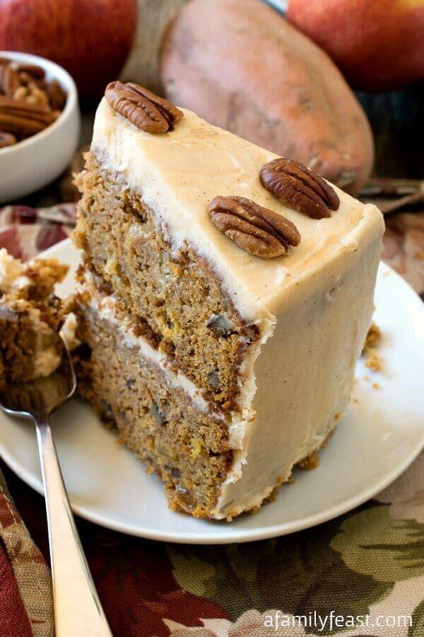 Sweet Potato and Apple Cake