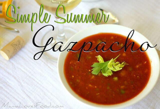12 Summer Gazpacho
