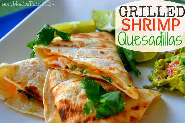 14 Grilled Shrimp Quesadillas