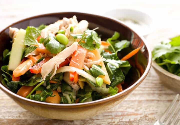 15 Easy Thai Chicken Salad