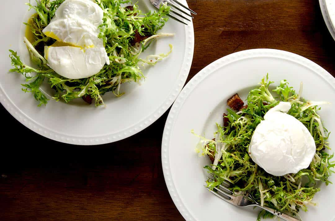 19 Traditional French Frisee Salad