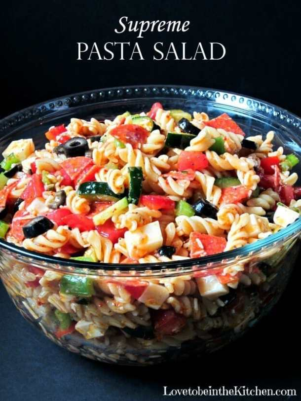 5 Supreme Pasta Salad -- part of The Best Picnic and Potluck Recipes