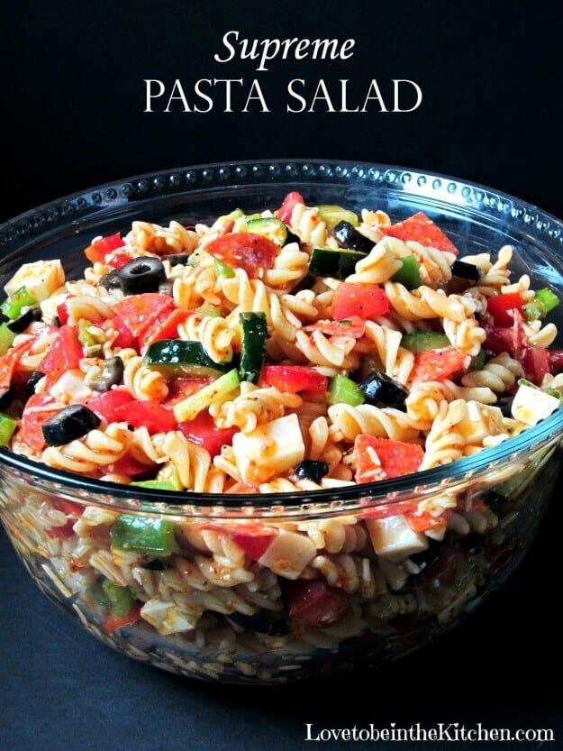 5 Supreme Pasta Salad
