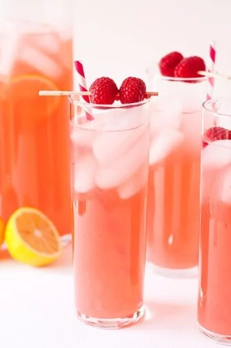 6 Summer Raspberry Lemonade