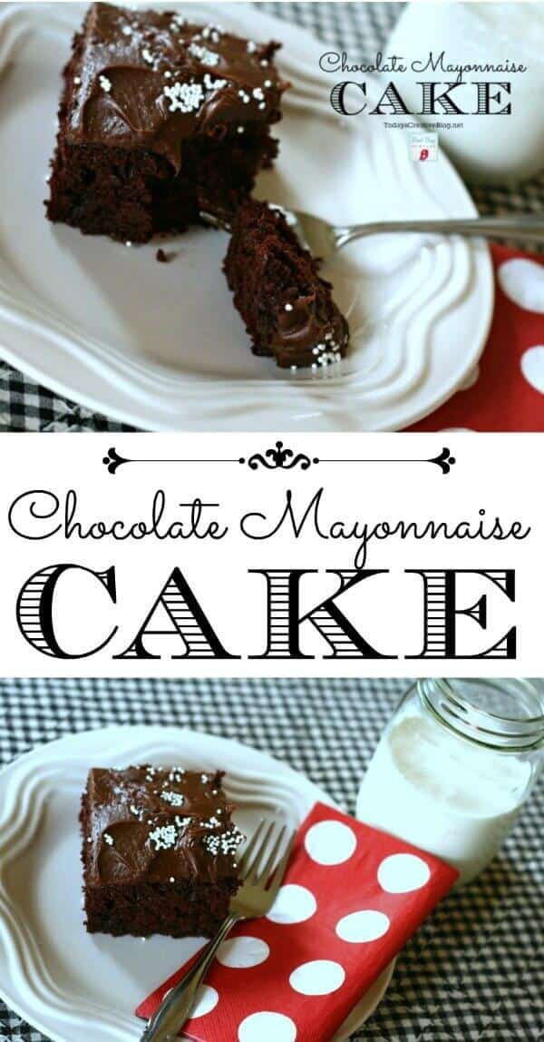 7 Chocolate Mayonnaise Cake