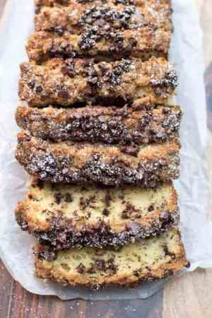 Sour Cream Chocolate Chip Crumb Cake