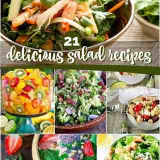 21 Delicious Salad Recipes