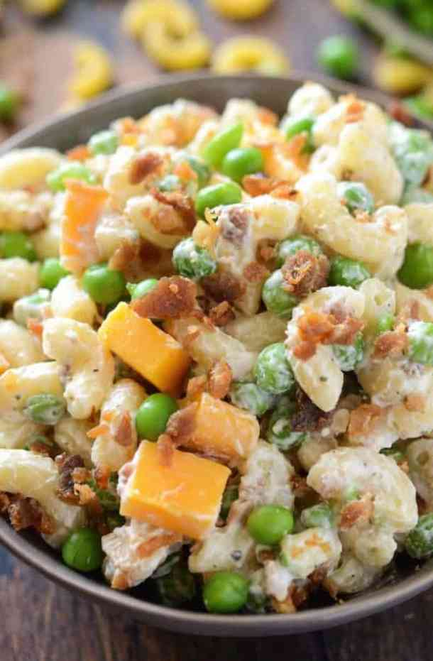 Bacon Ranch Pasta Salad -- part of The Best Picnic and Potluck Recipes