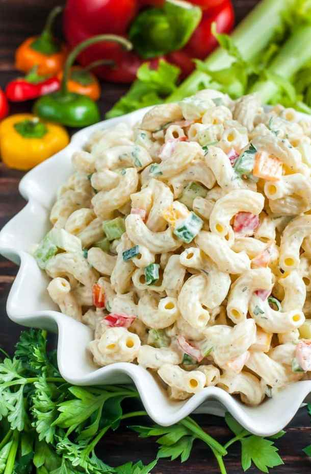 Homestyle Macaroni Salad -- part of The Best Picnic and Potluck Recipes