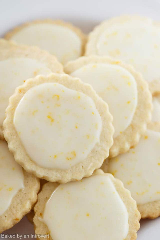 These Iced Meyer Lemon Cookies just the thing to cure those wintertime blues. The cookies are tender yet crisp, packed full of Meyer lemon flavor, and topped with a sweet Meyer Lemon Glaze. They are sure to bring a smile to your face after just one bite! The perfect winter citrus cookies to satisfy those bright sunny cravings!
