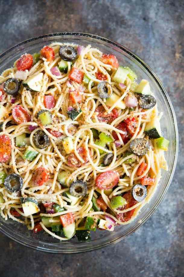 California Pasta Salad -- part of The Best Picnic and Potluck Recipes