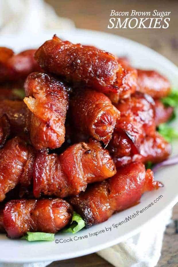 Bacon Brown Sugar Smokies