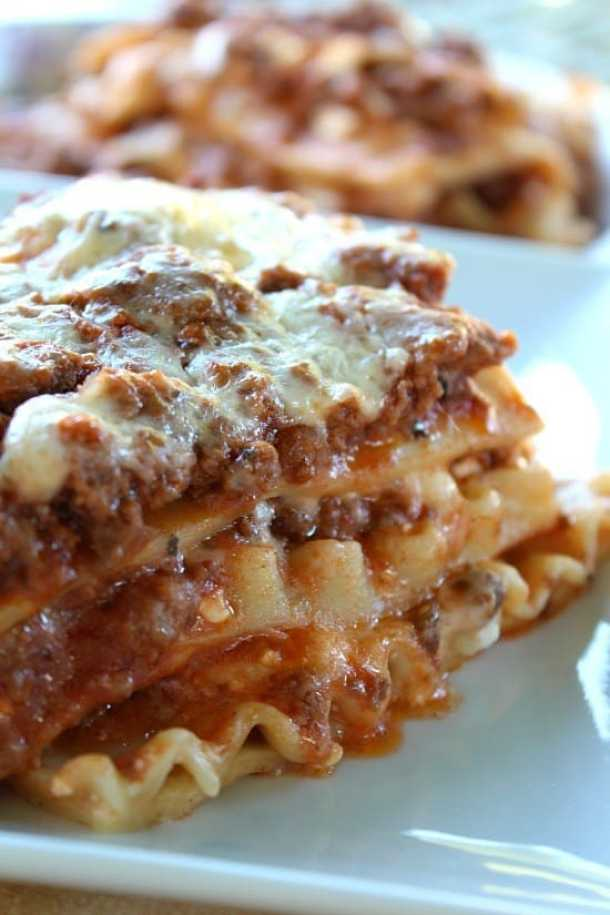 Classic Lasagna--Part of The Best Lasagna Recipes