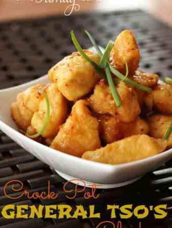 Crock Pot General Tso's Chicken