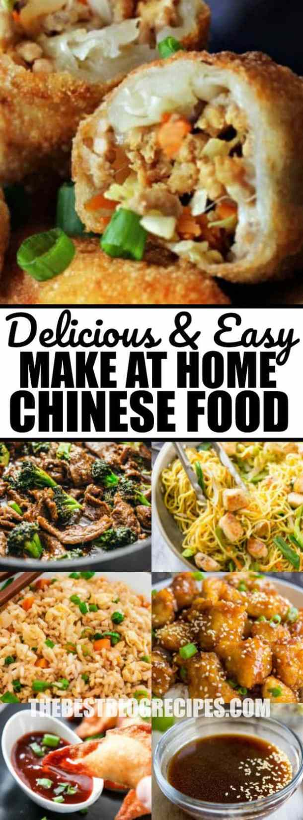 Delicious Easy Make at home Chinese Food