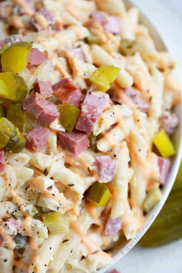 Reuben Pasta Salad -- part of The Best Picnic and Potluck Recipes
