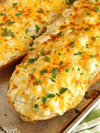 Shrimp and Artichoke French Bread