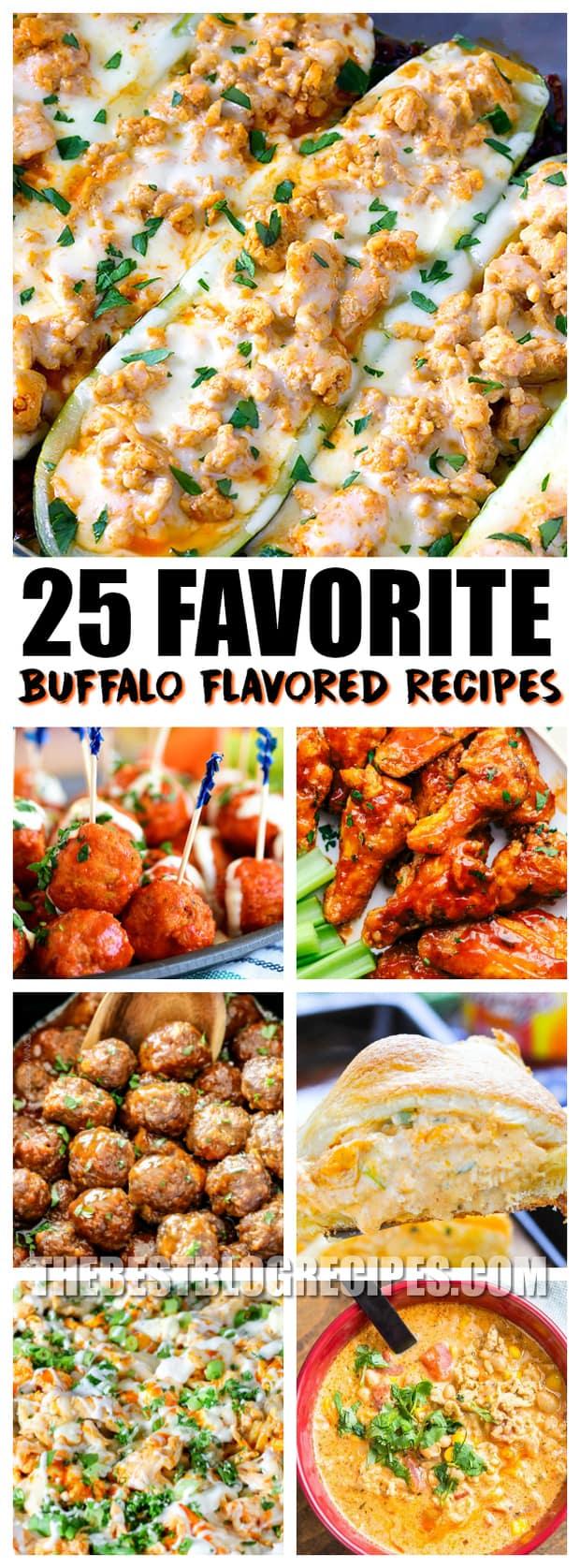 25 Favorite Buffalo Flavored Recipes