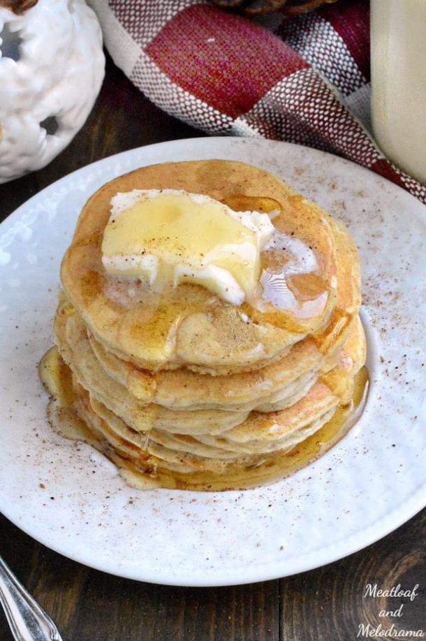 Easy Egg Nog Pancakes-- Part of THE BEST PANCAKE RECIPES