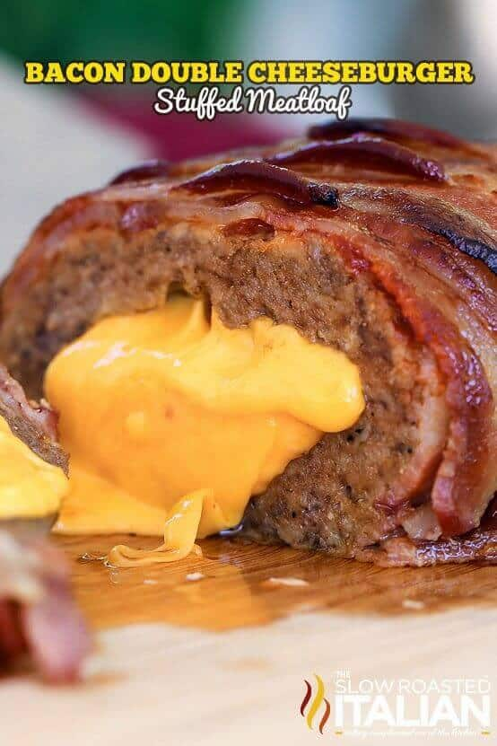 Bacon Double Cheeseburger Meatloaf