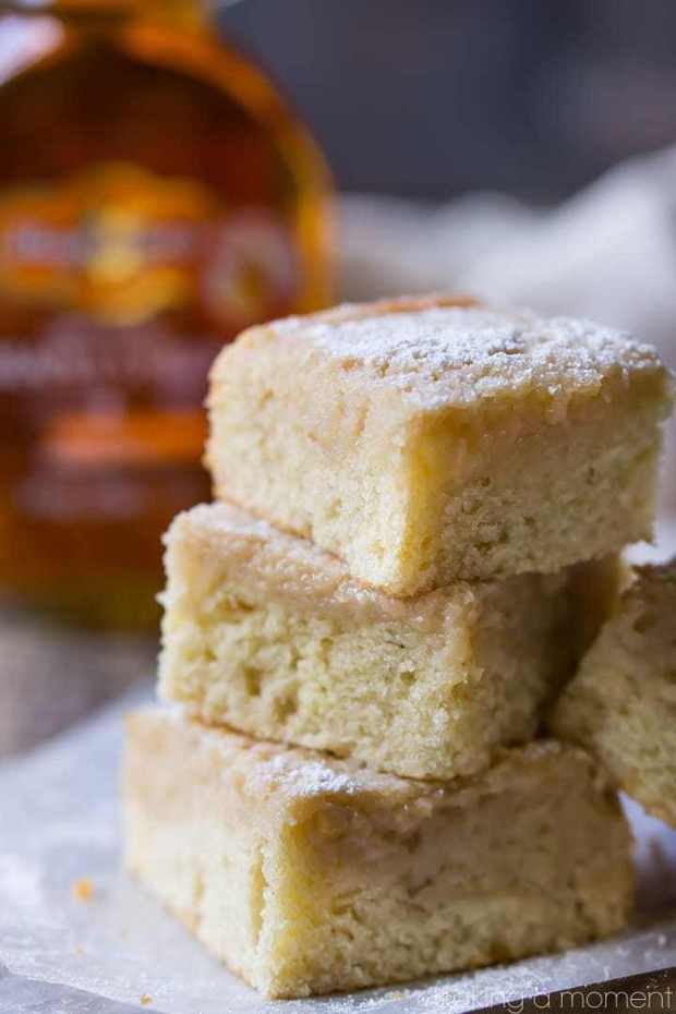 Maple Gooey Butter Cake: rich, buttery, and full of warm maple flavor. Made completely from scratch, no cake mix required!