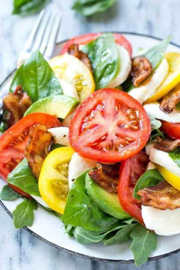 Bacon Caprese Salad
