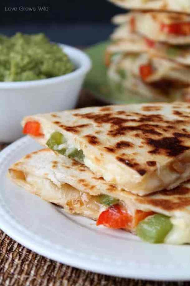 Fajita Style Quesadillas--Part of THe Best Quesadillas Recipes