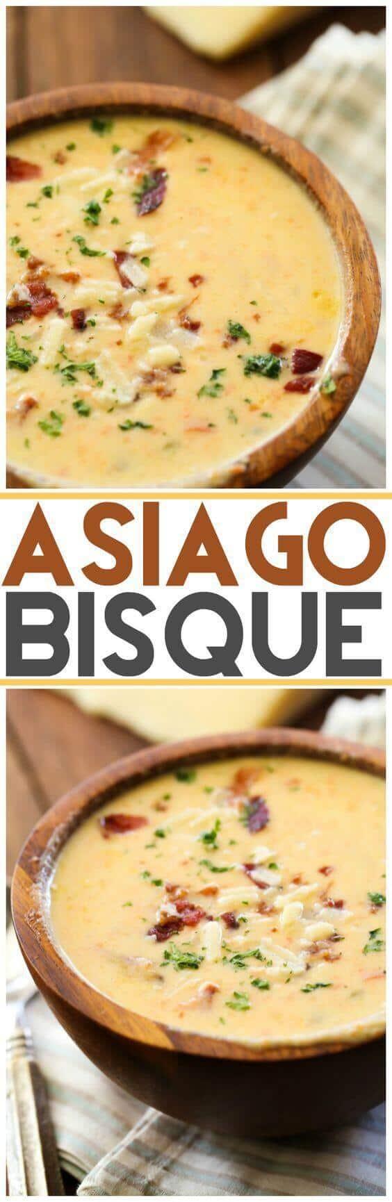 Asiago Bisque