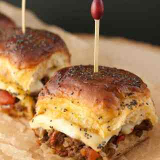 Jalapeno Cheeseburger Party Buns