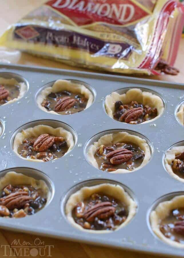 Mini Chocolate Pecan Pies Recipe