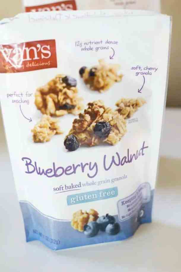 Van's Blueberry Walnut Granola