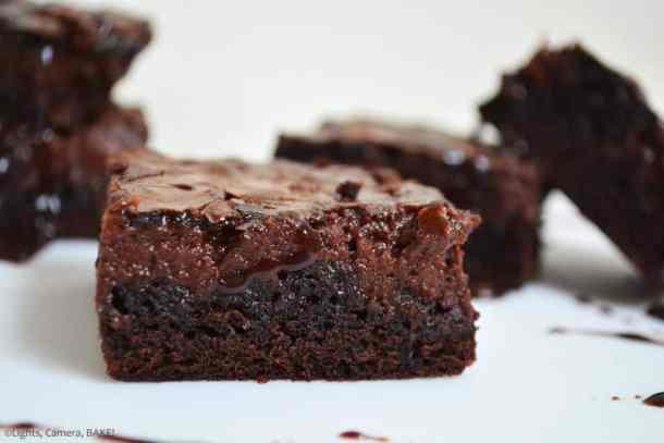 Hot Fudge Cheesecake Brownies -- Part of The Best Hot Fudge Dessert Recipes
