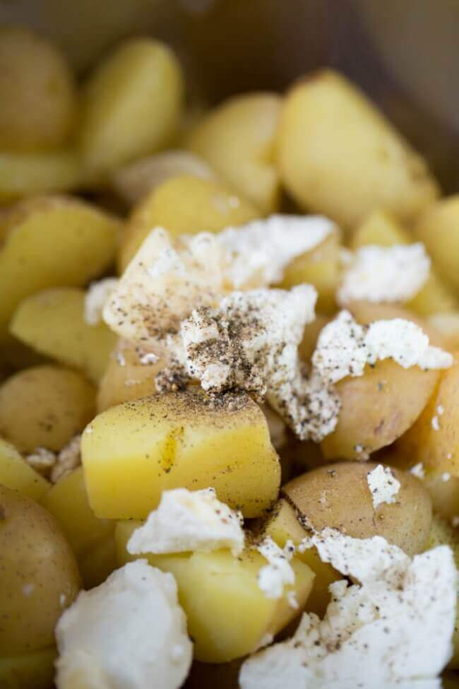 Goat Cheese Potatoes