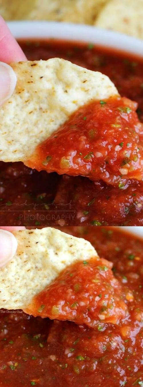 5 minute restaurant salsa