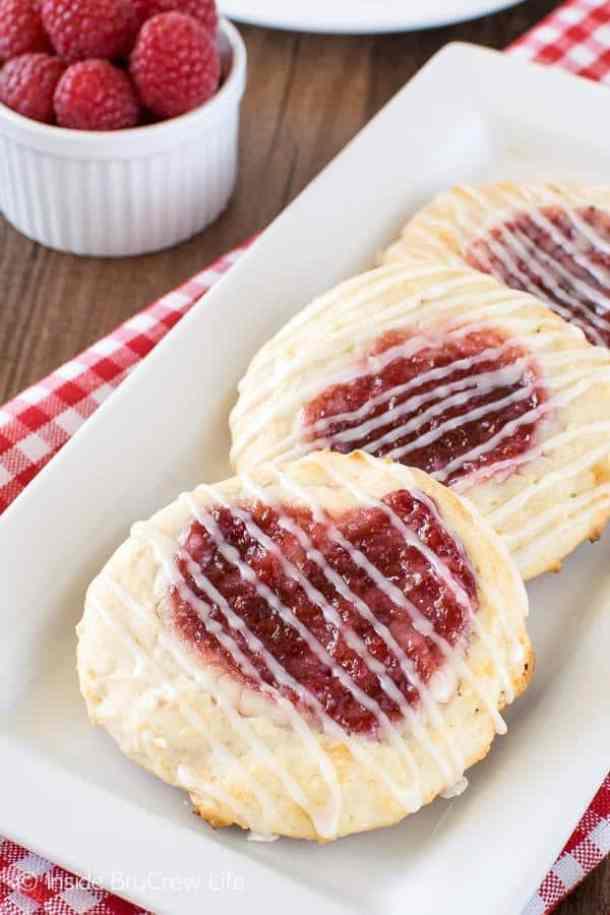9. Raspberry Ceesecake Danish--- Part of 30 Breakfast Danishes to Start Mornings off Right