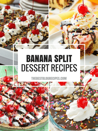 The Best Banana Split Dessert Recipes