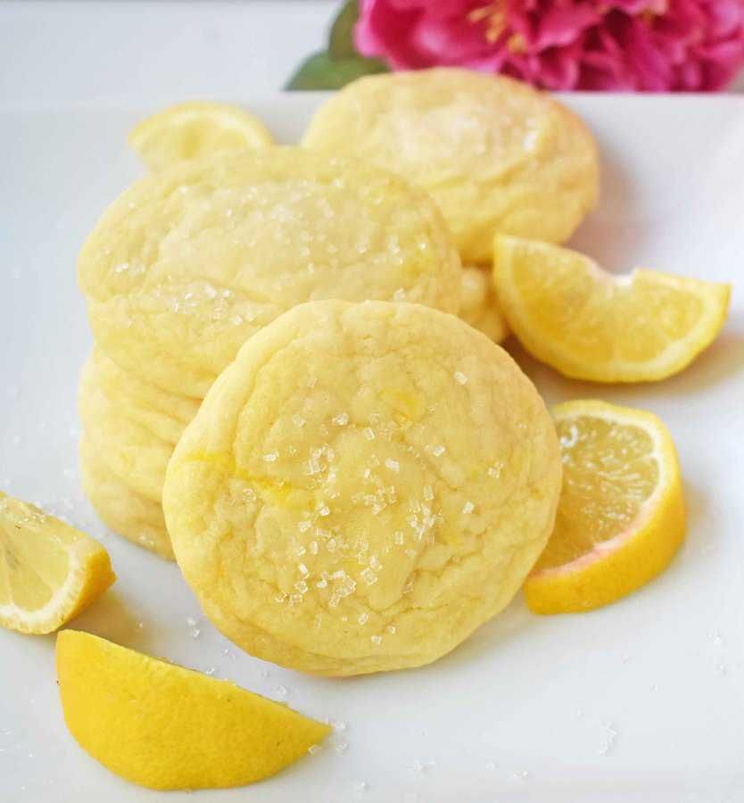 These lemon sugar cookies are to die for!