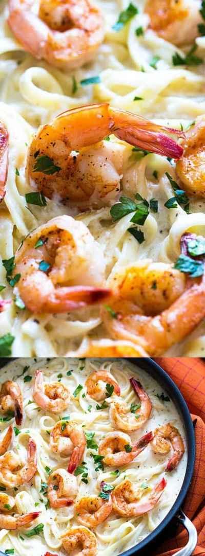 Cajun Shrimp Alfredo