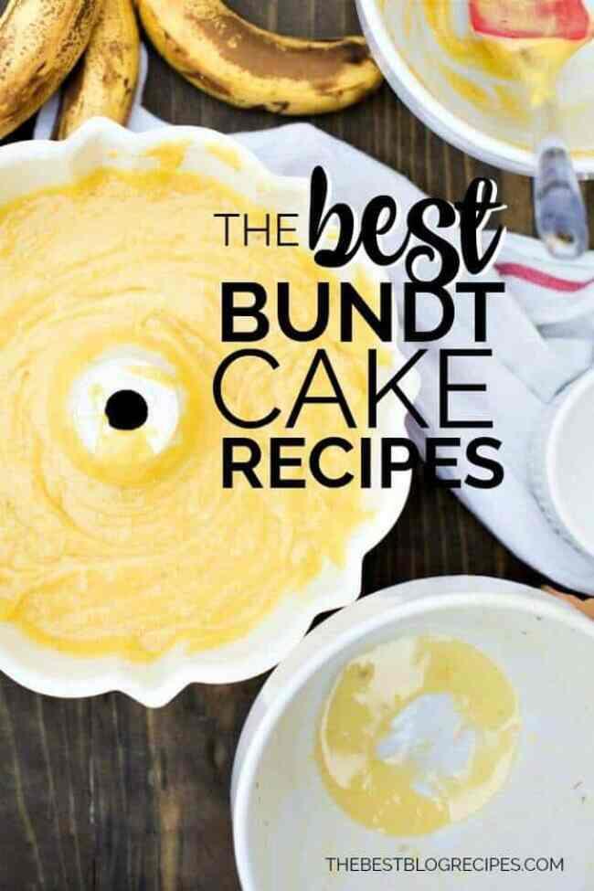 Best bundt cake recipes