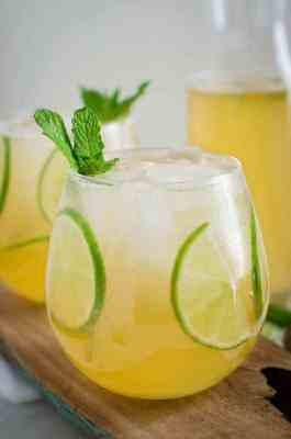 Mint Honey Homemade Limeade