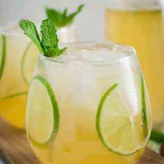 Mint Honey Homemade Limeade