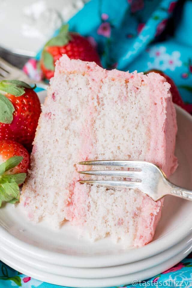 Easy Strawberry Cake Recipes The Best Blog Recipes