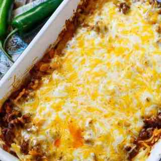 Chorizo Hash Brown Casserole