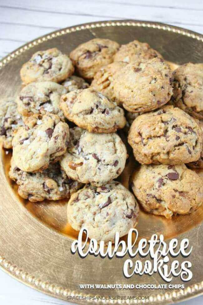 Doubletree Cookies with Walnuts and Chocolate Chips