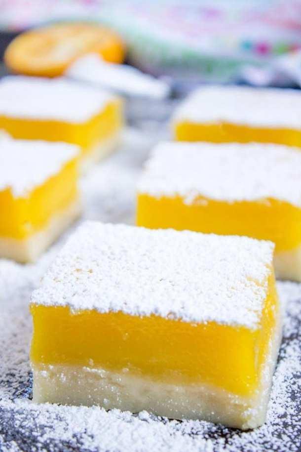 Easy Lemon Bars--Part of The Best Dessert Bars