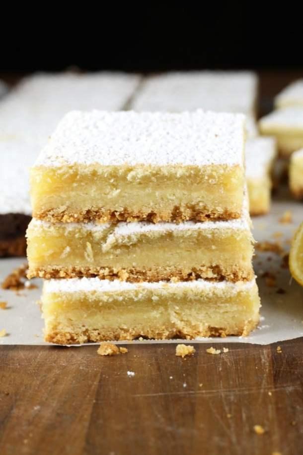 Lemony Lemon Bars--Part of The Best Dessert Bars