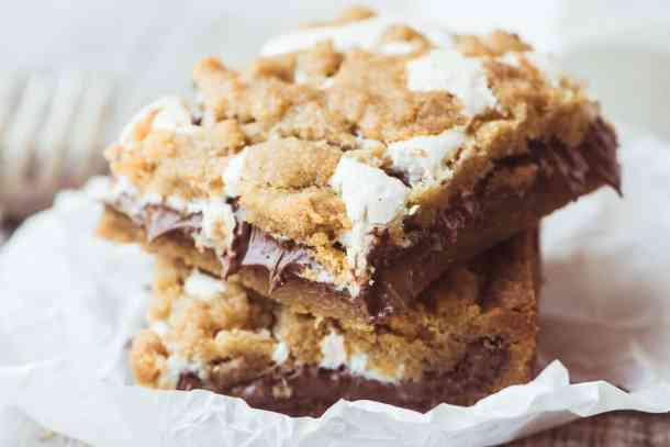Nutella S'mores Bars--Part of The Best Dessert Bars