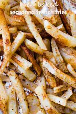 Oven Baked Seasoned French Fries